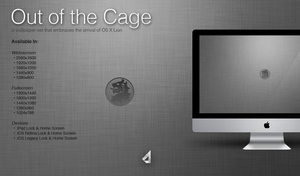 Out of the Cage Wallpaper Set by StreamingPixels
