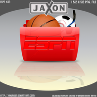 Colorflow ESPN Icon by JayJaxon