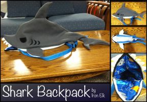 Shark Backpack by Konsumer