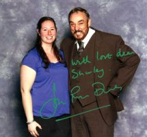 John Rhys Davies and I by Sofera
