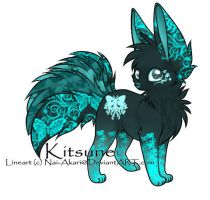 Kitsune Adoptable ~ 54 [CLOSED] by BiahAdopts
