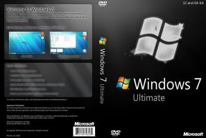 Windows 7 Ultimate Black DVD by yaxxe