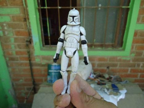 creating clone armor Tropper by Angheluz