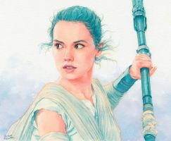 Rey (Star Wars) by Trunnec