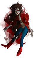 marceline the vampire queen by Deserea-Q