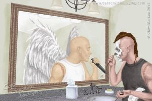 Michale Graves Angel by Claw-Markes