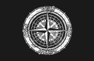 Compass Rose by onecuriouschip