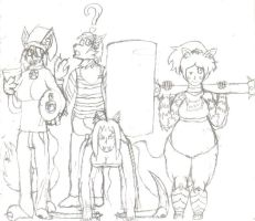 The Wolf Pack Ready for Battle!? by KakuEpsilon