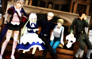 .:Prussia's girls:. by RussiaRomano