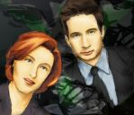 Fearful Symmetry - The X-Files by emorei