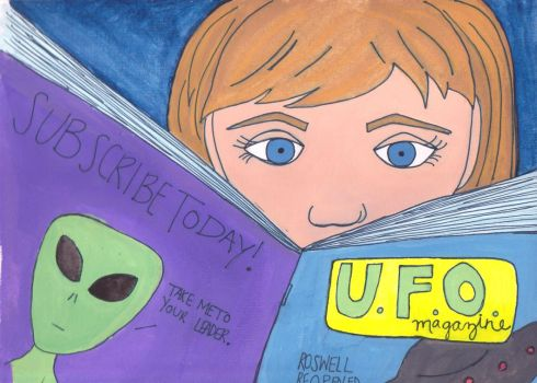 Read UFO Magazine by tiniestowl