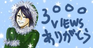 3000 views thanks with Noodle by kazenokibou