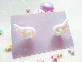 Dreamy Wing Ring Set by societyisfucked