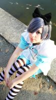 Ciel in Wonderland - Candy? by Kubzification