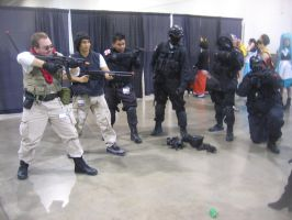 Anime Vegas Day 2 USS, SpecOps and STARS by Demon-Lord-Cosplay