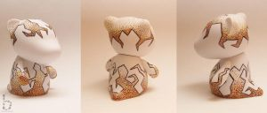 Stippled Rooz Munny by bethanydesigns
