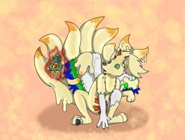 Ninetales Goo TF by Fox0808