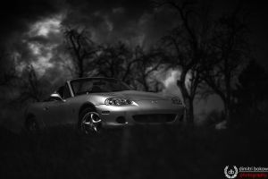 Miata from darkness by DimitriBokowPhoto