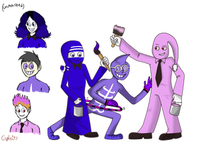 HOLY COW MORE EARTHBOUND FANCHARACTERS by Cephei97