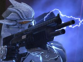 Halo 3: Ice Hayabusa by Legendark
