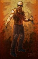 RIDDICK by PRATT-FACE