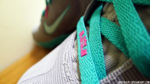 Nike Lebron 9 Elite 'Miami Vice' 4 by BBoyKai91