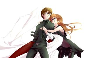 AT: Mystique and Kaiba by Alarimaa