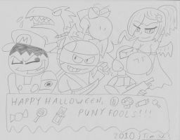 Halloween 2010 sketch by T95Master