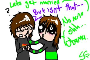 GAY MARRIAGE-Nonono shh..OBAMA by Star-Filled-Syringes