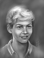Young Paul Walker by C0y0te7
