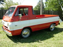 Dodge A100 Pickup Truck by RoadTripDog