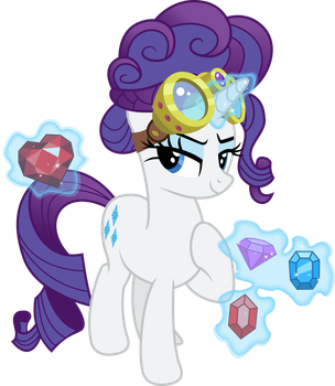 Rarity the Jewel Thief by TheShadowStone