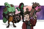 Guardians of the Galaxy by joshisterrific