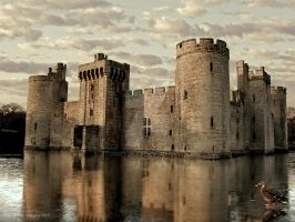 An Icy Moat by stormyuk73