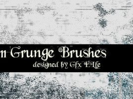 Grunge Brushes No 2 by gfx-elfe