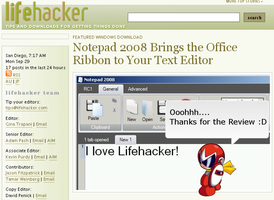 Notepad 2008 - Lifehacker by SuprVillain