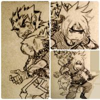 kakashi and anko comic scrap 1 by KickBass77