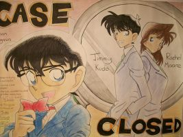 Case Closed FanArt by Spike-Nifer