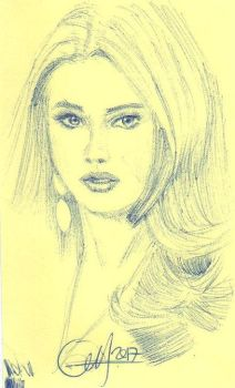 Post iT Doutzen K by ethan-gmt