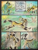 PAINTED Ch One SPRING Pg 3 by Eviecats