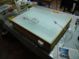 Self-Made Lightbox by Counterdraw