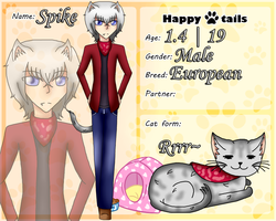 Happy Tails Fourth App ~ Spike by TheYamiClaxia