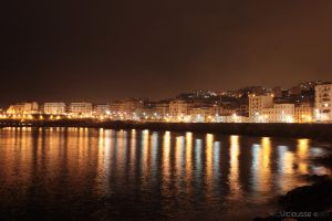 Beb El Oued (Algers) By Night by viciousse