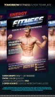 TOMORROW Fitness Flyer Template by anekdamian