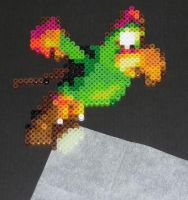 Squawks Bead Sprite by monochrome-GS