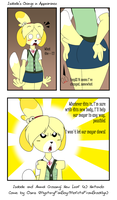 Isabelle's Change in Appearance by MysteryFanBoy718