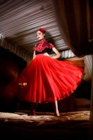 red on the badroom by jalijal