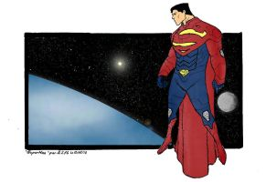 Superman by JLZ74