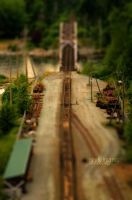 Rail Bridge Tilt Shift by Mark-Ingram