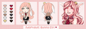 #1: Bunny Girl [OPEN] by TomokouAdopts
